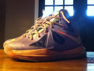 Nike Lebron 10 (GS) reviewed by Kawika Akina